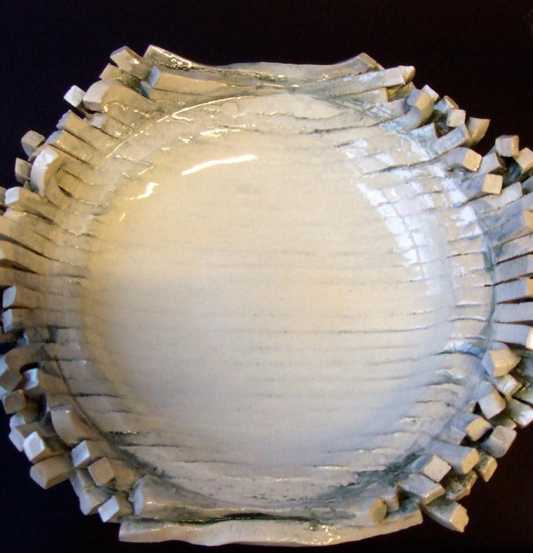 Lisa Stockham 2010,  Lined plate