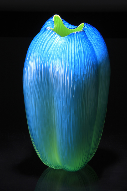 Laura Birdsall, Lime Turquoise Tall Pod