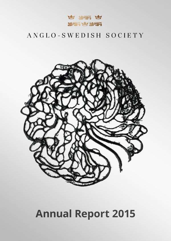 Anglo-Swedish Society 2015 Annual Report cover